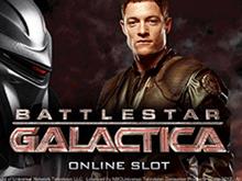 Игра в мобильном казино Battlestar Galactica