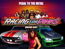 Популярная версия слота в мобильном казино Вулкан Racing For Pinks