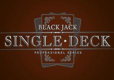 Карточная игра Single Deck Blackjack Professional Series