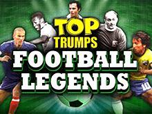 Игра в казино Вулкан на деньги: слот Легенды Футбола