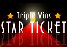 Слот Triple Wins star Ticket